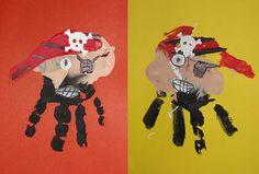 Handprint Pirates...