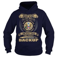 (Tshirt Cool Discount) Backup Job Title Discount 15% Hoodies Tee Shirts