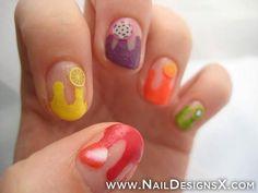 fruits 2-nail design