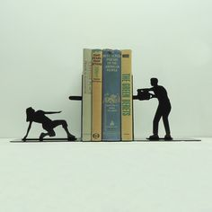 These bookends will bring your books to life.