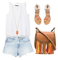 """""""Carnival look"""" by baileyryan13 on Polyvore featuring Alexander Wang, MANGO, Kendra Scott and Chloé"""