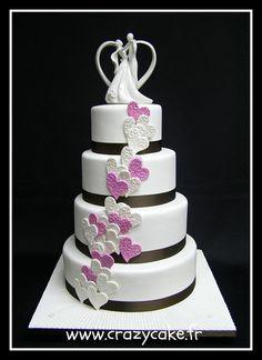Wedding Cake by Crazy Cake - Cakedesigner57, via Flickr