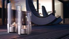 Efektowny, elegancki i nowoczesny kominek dekoracyjny z serii Twistfire niemieckiej marki Auerhahn.