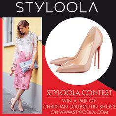 POST YOUR LOUBOUTIN LOOK ON WWW.STYLOOLA.COM