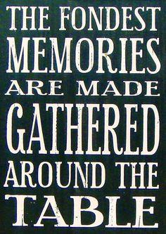 Memories quote via Carol's Country Sunshine on Facebook