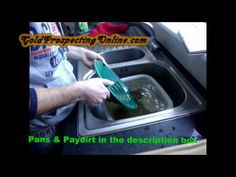 Practice Gold Panning | Gold Prospecting Equipment,Tips & Gold Maps