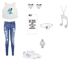 """Meh."" by spotlightlove on Polyvore featuring Tommy Hilfiger, adidas, Casetify, Skagen, Rebecca Minkoff and Allurez"