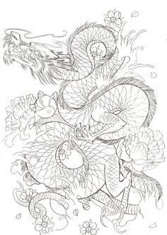 japanese dragon on Tumblr