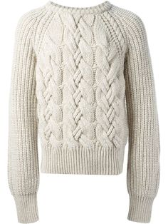 Cerruti Cable Knit Sweater