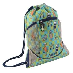 KidKraft Robot Drawstring Backpack: Shopko