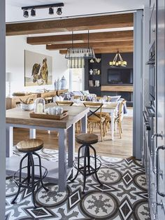Kitchen, Mountain, House, Furniture, Home Decor, Design, Cooking, Decoration Home, Home