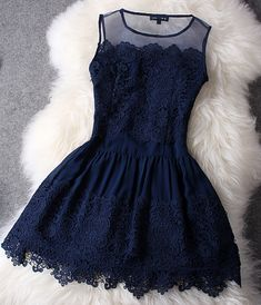 Simple mini lace prom dress,jewel homecoming dress,sleeveless