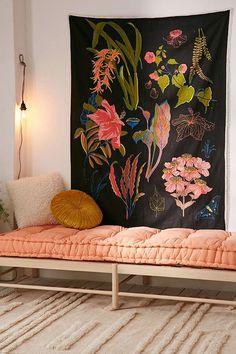 Slide View: 1: Botanical Chart Tapestry