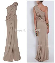 Elegance Elie Saab Evening Dresses for sale Side Slit One Shoulder Prom Dresses One Shoulder Chiffon Party Dress