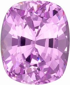 Genuine Pink Spinel Loose Gemstone, Cushion Cut, 8.3 x 6.3 mm, 2.43 Carats at BitCoin Gems