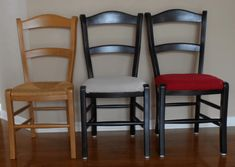 The story of 2 rush cane chairs that needed a little makeover. Not an overhaul and nothing to destroy the original cane seats. Just a little cut and color.