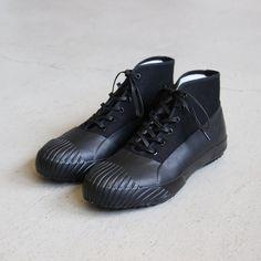 STUSSY Livin' - GS Rain Shoes by Moonstar #black/black