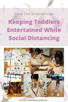 Keeping Toddlers Entertained At Home While Social Distancing · nanani. Social Activities, Home Activities, Fun Activities For Kids, Easy Crafts For Kids, Physical Activities, Outdoor Activities, Kids And Parenting, Parenting Hacks, Toddler Play