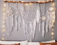 Set of 7 - boho dreamcatcher, bridal party, Boho wedding, dream catcher, nursery, gypsy, wedding, baby shower, photo prop, bohemian, boho