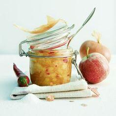 Zwiebel-Apfel-Chutney | perfekt als Gastgeschenk