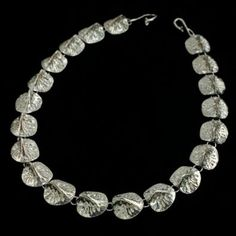 Alligator Scute Necklace : Gogo Jewelry