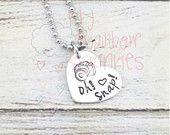 Oh snap! Photographers hand stamped necklace