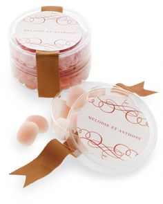 Personalized Candy Favor