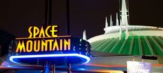 space mountain - My favorite ride!