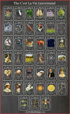 Jeri Totten Designs The C'est La Vie Lenormand