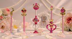 NEW Sailor Moon Eternal Set Wand Pointer Prism Stationery - sailor moon collectibles
