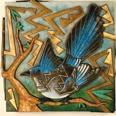 """Magpie"" by Tammy Garcia - Blue Rain Gallery / Santa Fe New Mexico"
