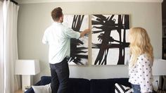 How to create a artistic focal gallery wall in your room step by step DIY tutorial instructions, How to, how to do, diy instructions, crafts, do it yourself, diy website, art project ideas