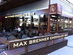 Max Brenner Chocolate Bar in Portside Wharf!