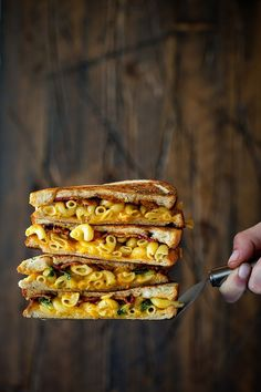 Bacon Mac and Cheese Melt   Real Food by Dad @Real Food by Dad