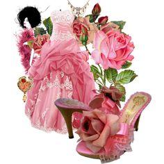 Pink Things - princess dress!