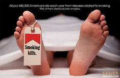 If you cant #Stop #Smoking, #Cancer will. #Webgranth present 50+ #Anti-#Smoking ads and posters against #Smoker. Check the now!!!