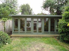 A Timber Garden Office