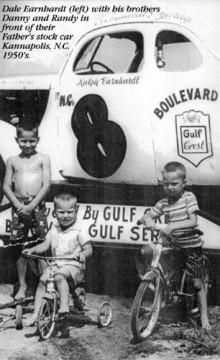 The Earnhardt Brothers, Dale, Danny, Randy.