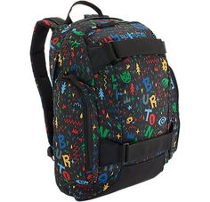 The Youth Metalhead Backpack offers all our  best bag features in a grom-sized package | #13Things That Make Backpacks the Best Gifts Ever via Burton.com