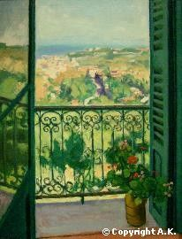 Albert Marquet - View from a Balcony, 1945 Window View, Window Art, Open Window, Cara Fresca, Art Français, Post Impressionism, Illustration, Paintings I Love, French Art