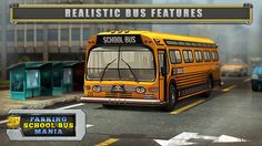 Enjoy now our free-to-play bus parking game and don't forget to rate and review! School Bus Games, School Fun, School Buses, Parking App, Free To Play, Bus Driver, Funny Games, Google Play, Countdown Clock