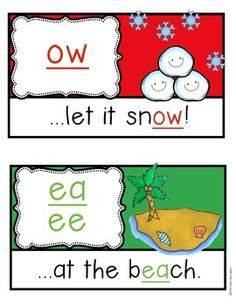 Phonics Poster Set for the Classroom!! {er, ow, oy, ay, ar, or & MORE!} Kindergarten and First Grade. Includes student tool sheet too! $