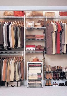 Browse the samples we gathered for you on closet organizers for walk in closets, you will be pleased to find there are numerous ways to organize your closet! For more go to hackthehut.com