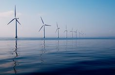 The first large-scale offshore wind farm in the U., Vineyard Wind project, proves that renewable energy is cheaper than ever. Renewable Energy, Solar Energy, Offshore Wind Turbines, Offshore Wind Farms, Green Environment, Energy Conservation, Most Beautiful Images, Wind Power, Alternative Energy