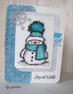 Penny Black Christmas Cards with Snowman Christmas Cards 2018, Homemade Christmas Cards, Xmas Cards, Homemade Cards, Handmade Christmas, Holiday Cards, Penny Black Cards, Snowman Cards, Theme Noel