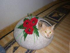 Аксессуары для кошек, ручной работы. Эко-домик для кошки, Котэ-Хауз