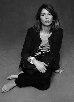 Sophia Coppola in uno degli scatti della mostra The Little Black Jacket.  #Chanel #Milano #SophiaCoppola
