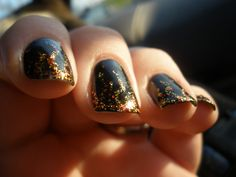 Hunger Games Nail Art