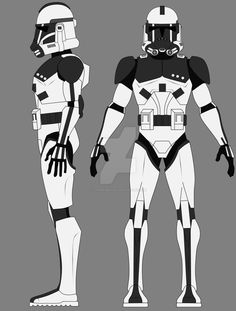 Phase II Tech/Slicer Armor by on DeviantArt Star Wars Characters Pictures, Star Wars Pictures, Star Wars Images, Star Wars Helmet, Star Wars Fan Art, Star Wars Clone Wars, Star Wars Battlefront 3, Star Wars Novels, Star Wars Vehicles