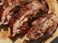 Perfect for summer -- Guy Fieri's Zing Zang Flank Steak. Get the recipe HERE: http://abcn.ws/1okuQyf